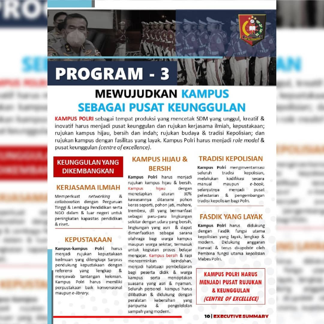 PROGRAM 3 - CENTRE OF EXCELLENCE